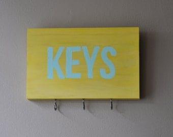handmade key rack