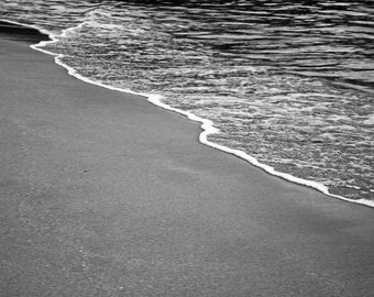 Our Beach - Fine Art Photograph - Autumn Photography, Black and White