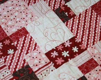 Be My Valentine Lap Quilt