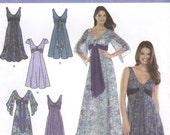Simplicity 3785 Dresses Size U5 16-24 (Robe - FR 44-52) (Vestido - EUR 42-50)
