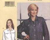 Easy Vogue 7636 Today's Fit Shirt Blouse Sandra Betzina Size G-J (Chemise)