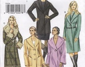Easy Vogue V8164 Basic Design Coat Size A 6-10 (Facile Manteau) (Abrigo)