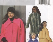 Easy Coat Butterick B4671 Size RR 18W-24W (Facile Manteau) (Facil Abrigo)