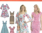 Simplicity 3774 Dress Empire Waist Size H5 6-14 (Robe FR 34-42) (Vestidos EUR 32-40)