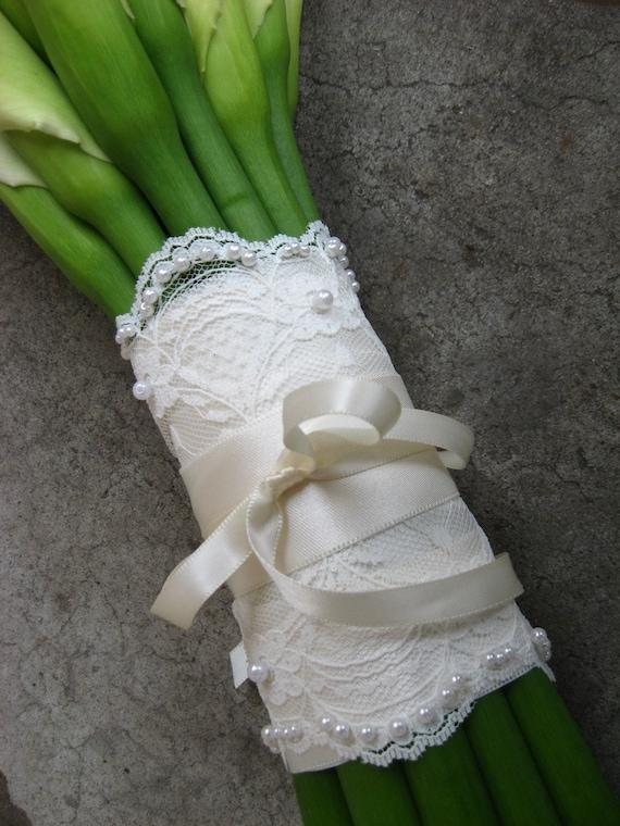 lace bouquet tie