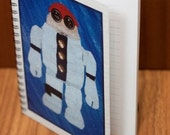 CoustoBot NoteBots Notebook/Scribbler With Lined Pages