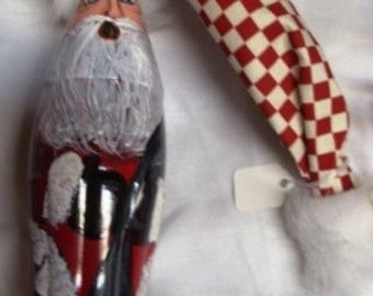 Recycled Soda Bottle Santa