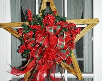 Barn Star Holiday  Weath