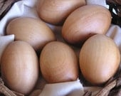 Farm Fresh Eggs- Solid Wood 6 pack- Made it to the Front Page