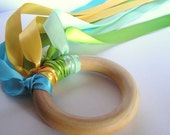 Wooden -Waldorf- Kids -Toy-FLY ME- Dune - Wood Hand Kite Party Favor Costume Accessory Dance Prop