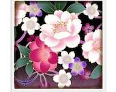 20% OFF - Pretty Pink Flower Coffee Coaster