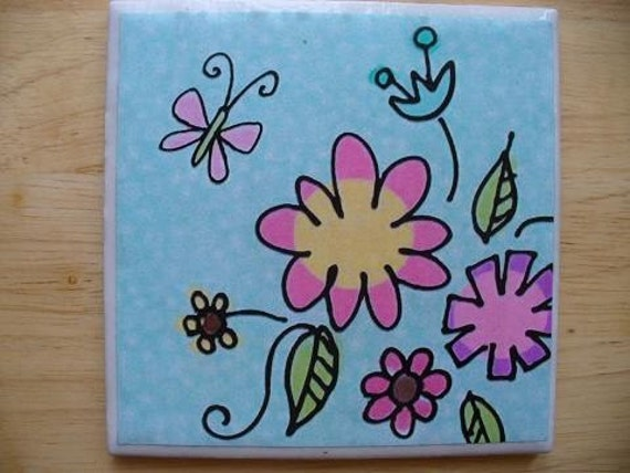 Spring Flowers Coasters