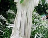 Vintage Pale Green Taffeta Dress