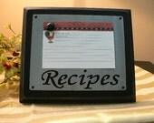 DIY - Magnet Recipe Board