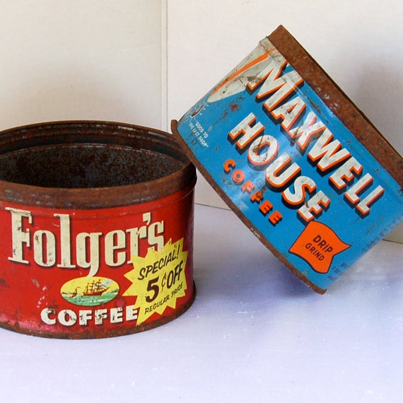 Rusty Coffee Cans