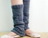 Knitting PDF PATTERN Ballet Yoga Dancer Leg warmers 13
