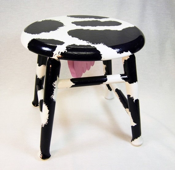 Footstool Cow Milking Stool