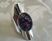 "Vintage ring, Sarah Coventry ring, ""Cleopatra series"" ring,size 7 ring, signed ring, sarah coventry jewelry"