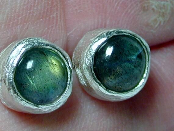 Labradorite earrings ,Boho stud earrings ,Casual earrings ,Classic stud earrings