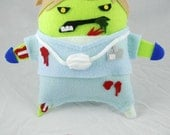 ZOMBIE STUFFIES - Doctor Wernicke