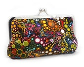 Effervescence Dot, Jewel - Skinny Clutch