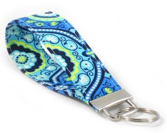 Ocean Treasure Box - Key Fob Wristlet