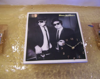 Blues Brothers Briefcase Full Of Blues Album Cover Clock