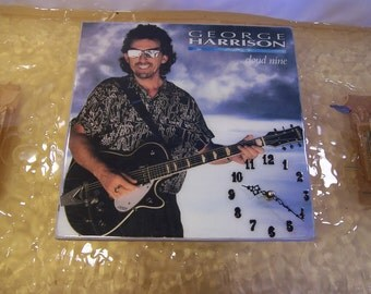 George Harrion Cloud Nine Album Cover Clock
