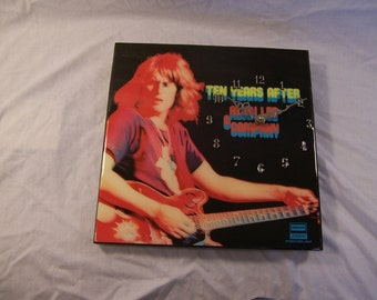 Ten Years After's Alvin Lee And Company  Album Cover Clock