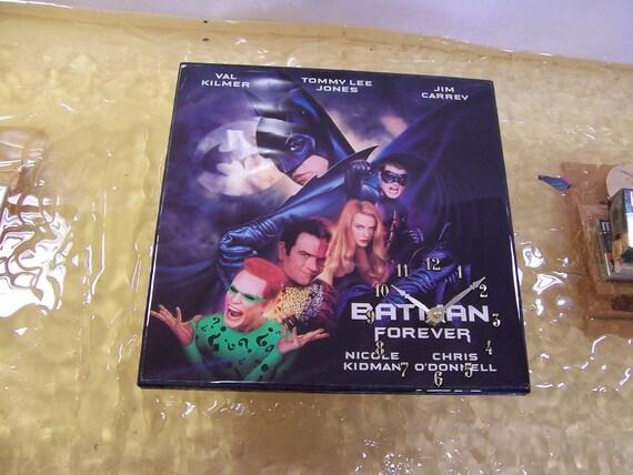 Batman Forever Album Cover Clock