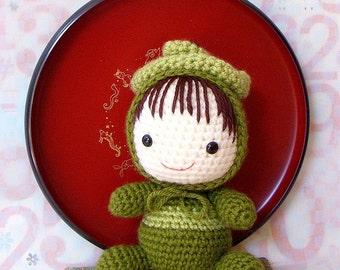 Crochet amigurumi Pattern - Zodiac Snake Baby - Amigurumi doll tutorial PDF