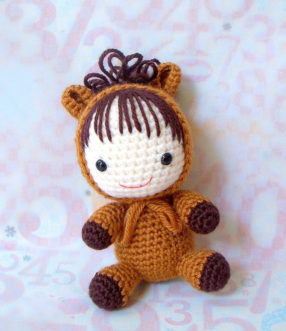 Amigurumi Year Of The Horse : Amigurumi Pattern - Zodiac Horse Baby - Crochet amigurumi ...