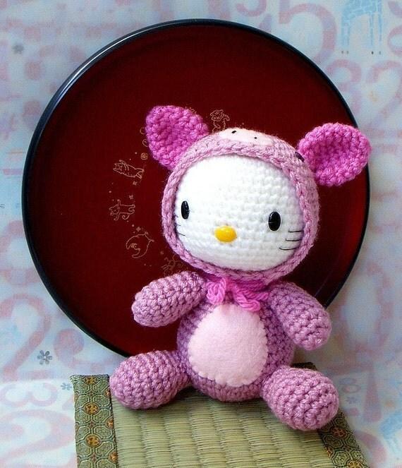 Amigurumi Pattern Zodiac Pig Crochet amigurumi doll
