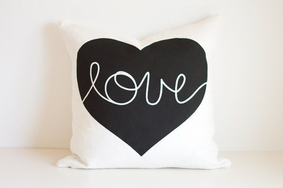 Heart Cushion - love