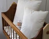 FINAL SALE Organic (12 by 16) Wool filled toddler pillow