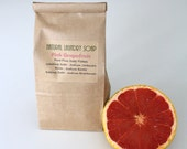Natural Laundry Soap, Pink Grapefruit scented