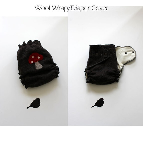 Wool diaper cover One Size Fits All Wool Wrap