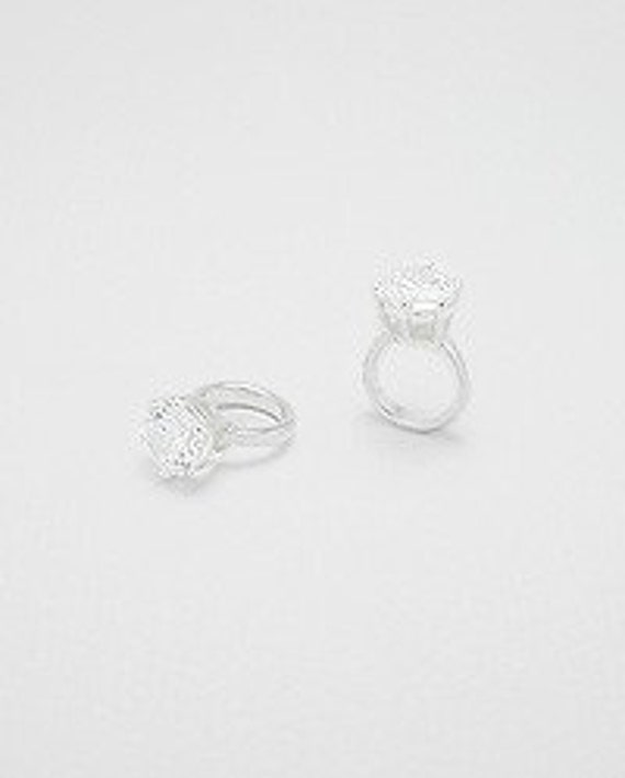 Bead Story Engagement Ring in sterling