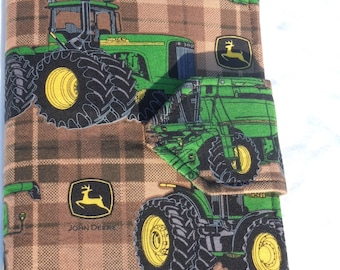 Kids Travel Coloring Case, Twistables Colored Pencil Holder, Road Trip Drawing Pad, Crayon holder, John Deere, Ready To Ship!