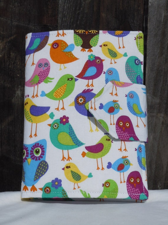 Kids Travel Coloring Case, Twistables Colored Pencil Holder, Road Trip Drawing Pad, Crayon holder, Birds and Owls, Ready To Ship!