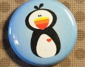 Arctic Puffin - 1 inch Button