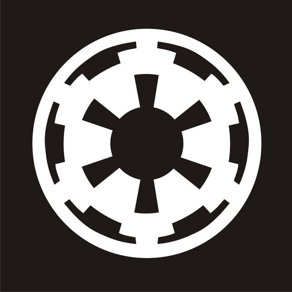 3x3 imperial symbol star wars r sticker decal. Black Bedroom Furniture Sets. Home Design Ideas