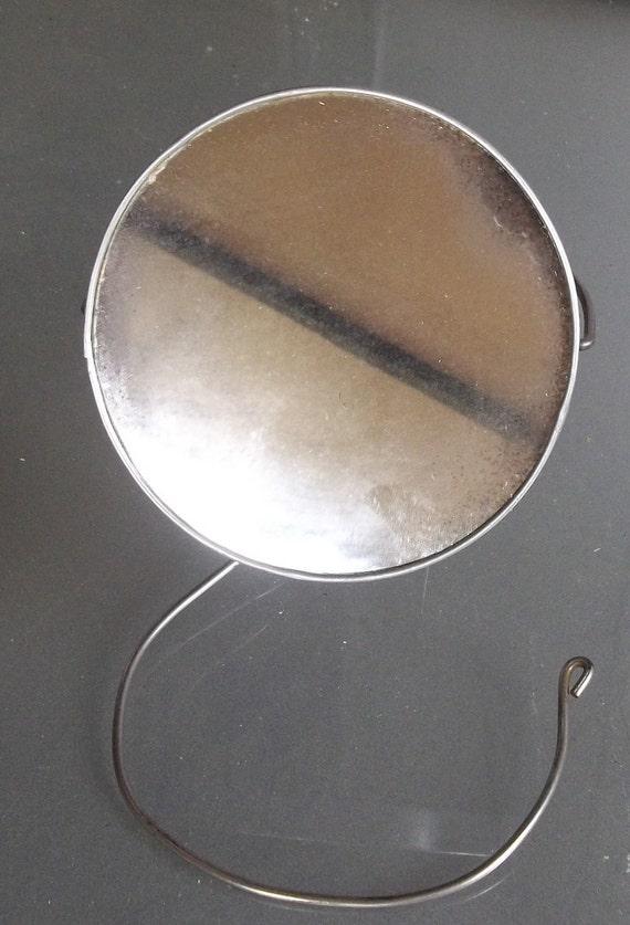 Vintage And Unique Hanging Shaving Mirror By Vintagecooletc