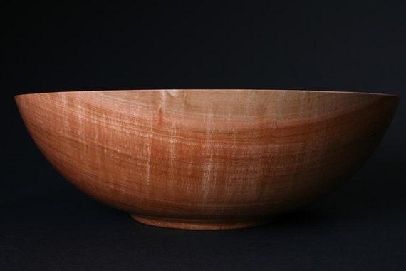Wild Black Cherry Wooden Bowl 569