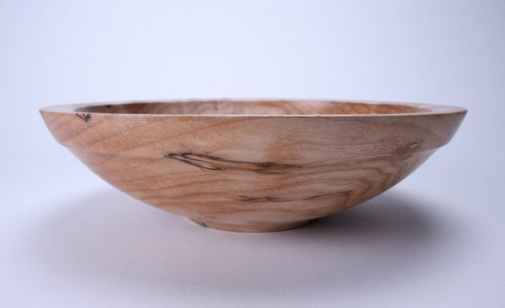 Quilted Spalted Big Leaf Maple Wooden Bowl 904