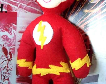 The Flash soft action figure super hero doll