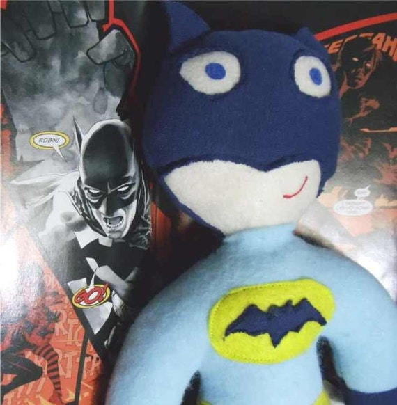 Batman plush soft action figure doll