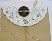 White Paper Doily, 100 Five Inch