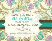 Save the Date 5x7 You Print Card