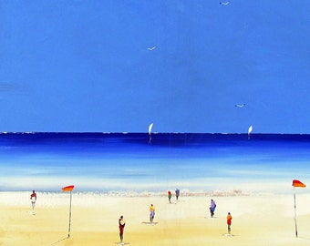 Wonderful  Beach - ORIGINAL PAINTING- Australian Painting - Painting on Canvas - Home decor